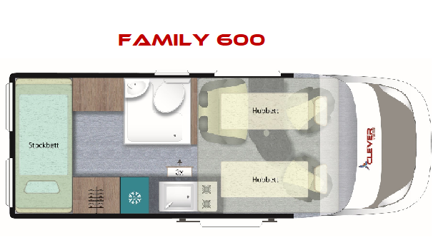 CLEVER FAMILY 600