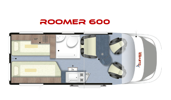 CLEVER ROOMER 600