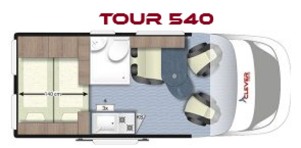 CLEVER TOUR 540