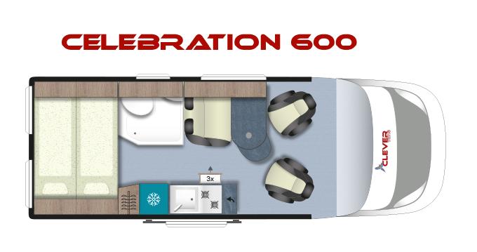 CLEVER CELEBRATION 600